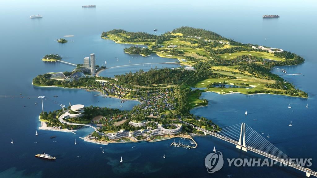 여수 경도해양관관단지 특급 숙박시설 건립 본격화