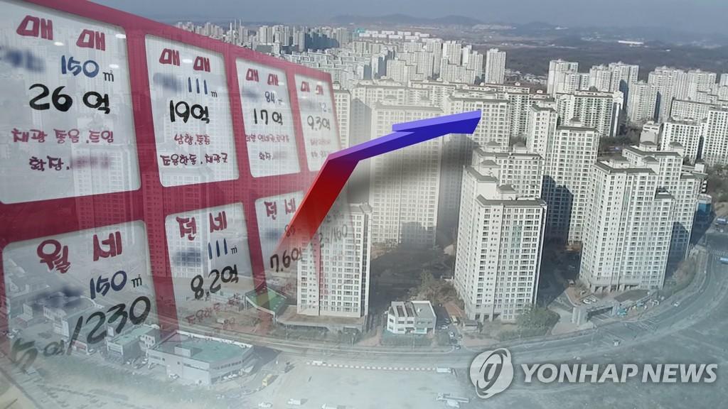 서울·수도권 집값 5개월 만에 상승폭 축소…금리·보유세 우려