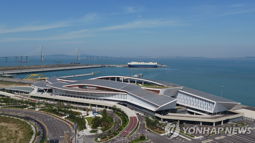 인천항 국제여객터미널 '장애물 없는 생활환경' 인증 획득