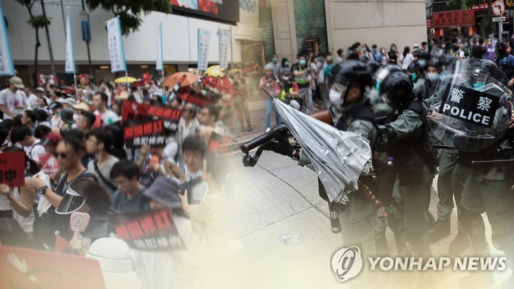 """홍콩 민주화 인사 네이선 로, 영국 망명 승인…中 """"범죄 용의자""""(종합)"""