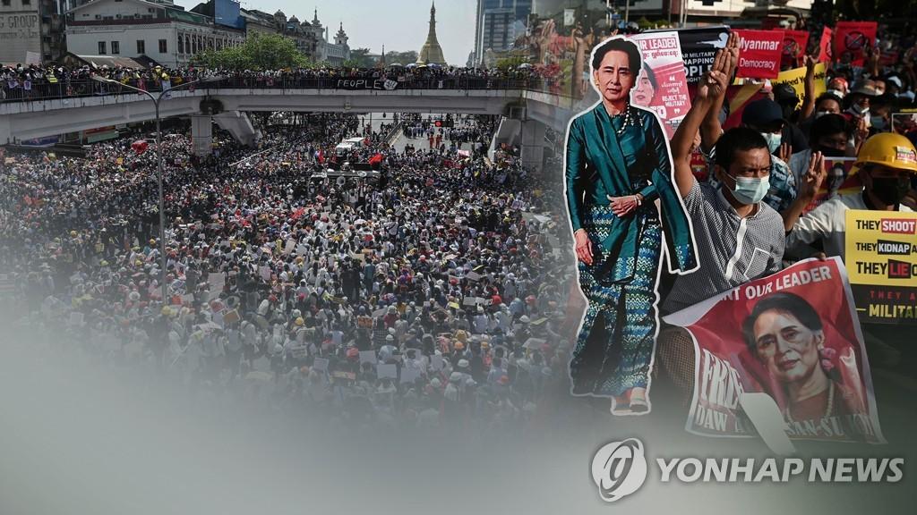 """""""올해 극빈층 180만명 증가 전망""""…미얀마 경제 초토화"""