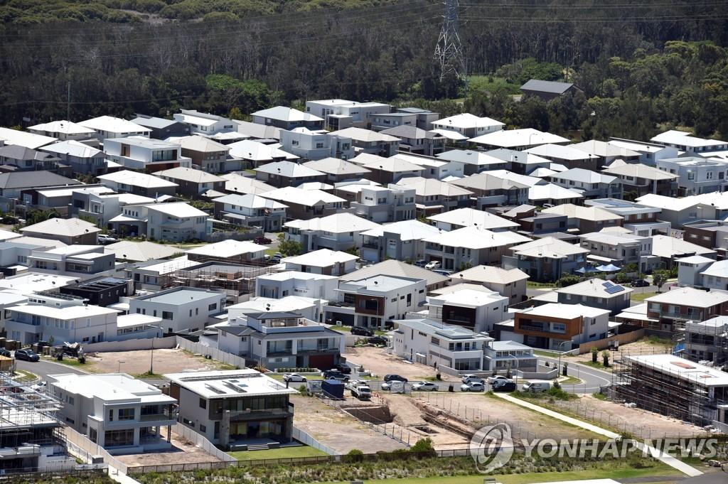 지난달 호주 집값 전국적으로 2.8% 올라…32년래 최고치