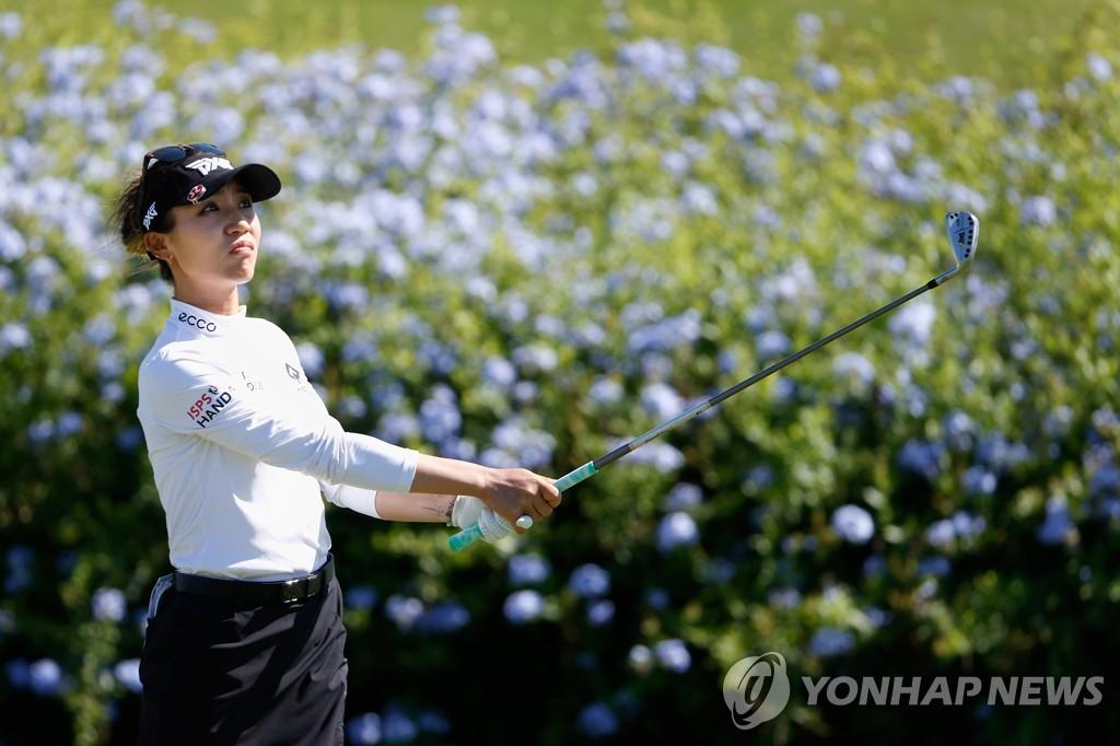 홀인원 기운 이어간 양희영, LPGA 투어 롯데 챔피언십 3R 5위