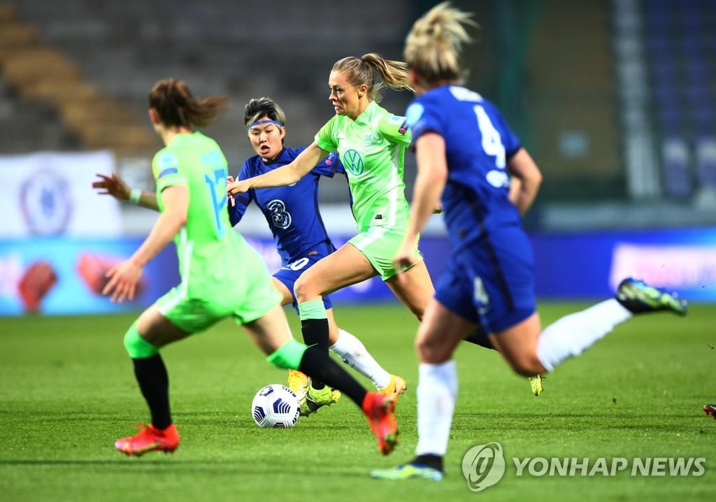 '지소연 쐐기골 도움' 첼시 위민, UEFA 여자 챔스 4강 진출