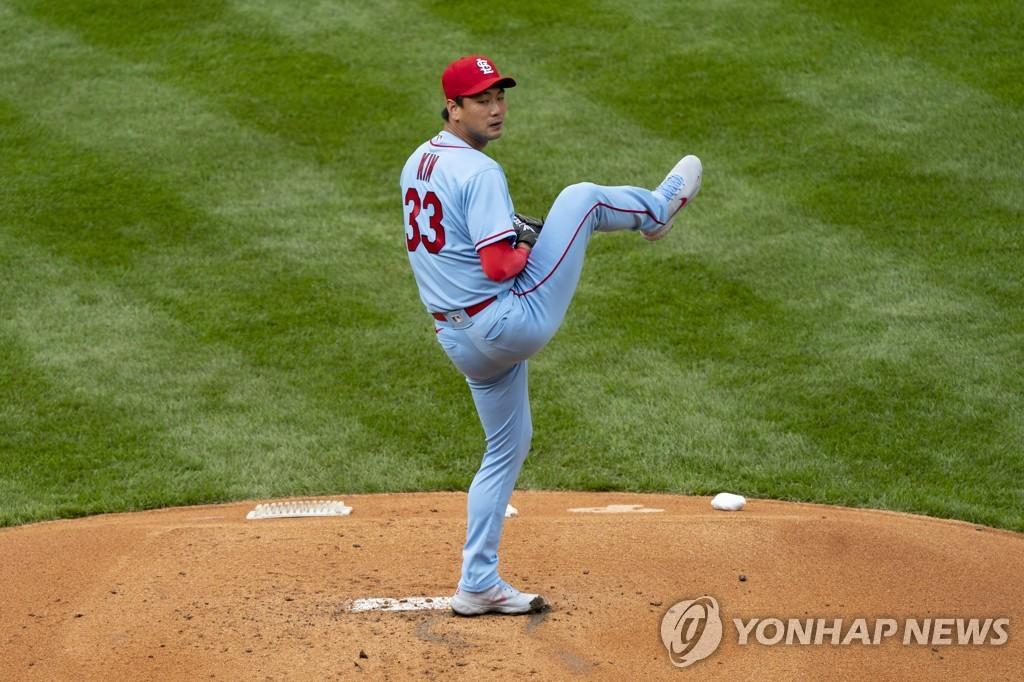 김광현, 시즌 첫 등판에서 3이닝 3실점…첫승 도전 실패(종합)