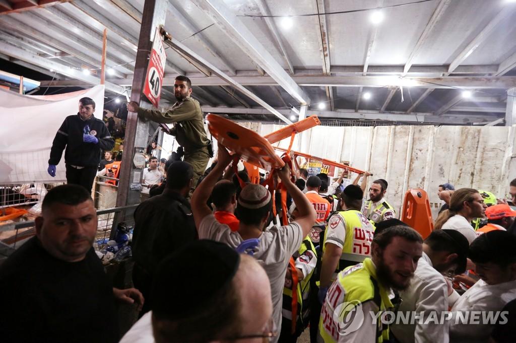 [사진톡톡] 참혹한 이스라엘 참사 현장