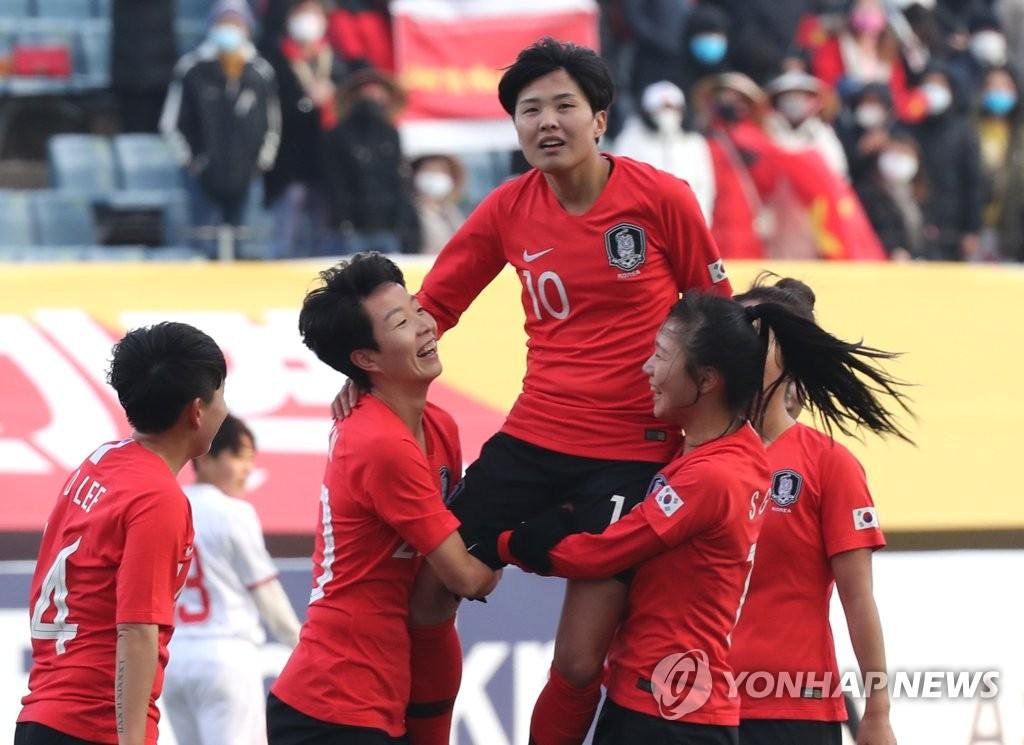 첫 올림픽 출전 절호의 기회…여자축구 '만리장성 넘어라!'