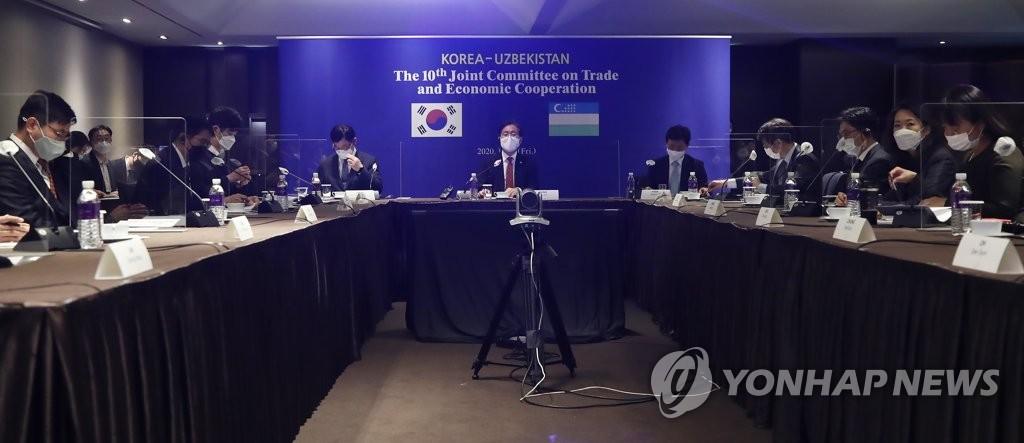 한-우즈베키스탄 무역협정 체결 위한 첫 협상 개최