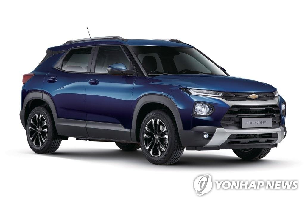 한국GM 3월 2만9천633대 판매…작년 동기 대비 21.8% 감소