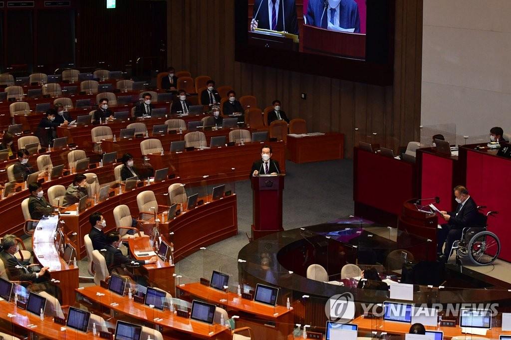 여야 4월 임시국회 일정 합의…19∼21일 대정부질문
