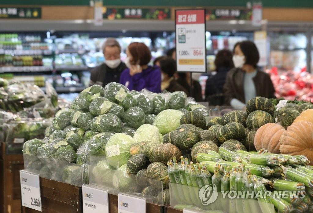 [2보] 3월 소비자물가 1.5% 상승…1년 2개월 만에 최고