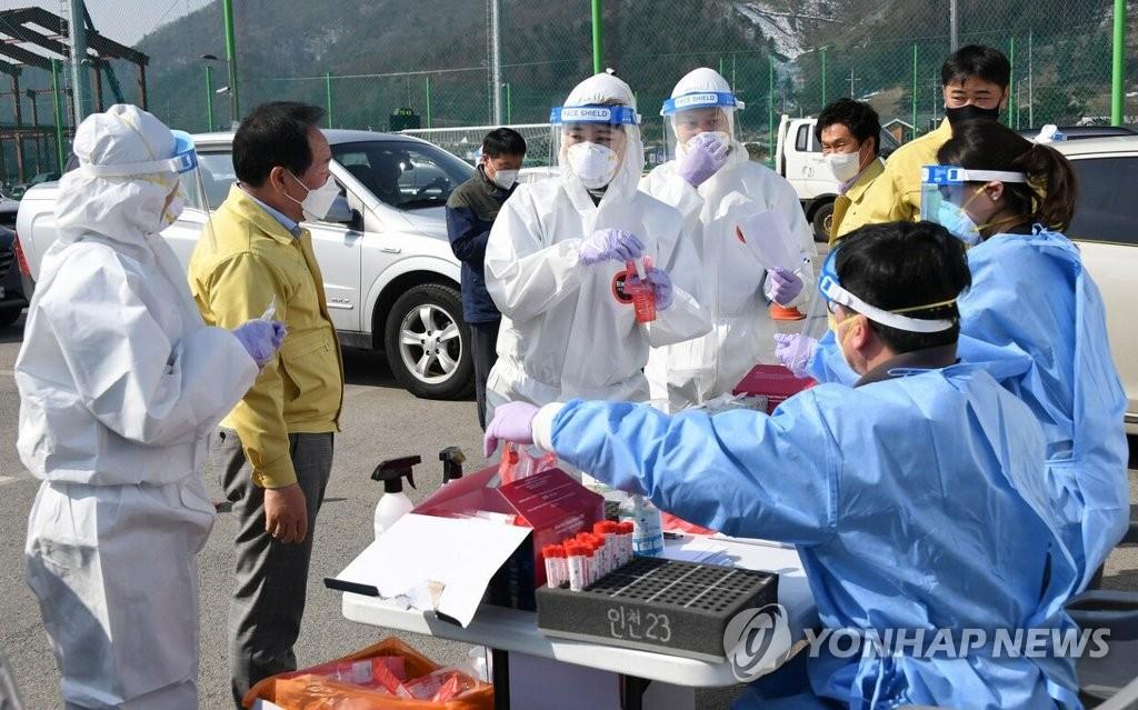 평창 장례식장발 확진자 9명 무더기 발생…상주 포함 총 18명