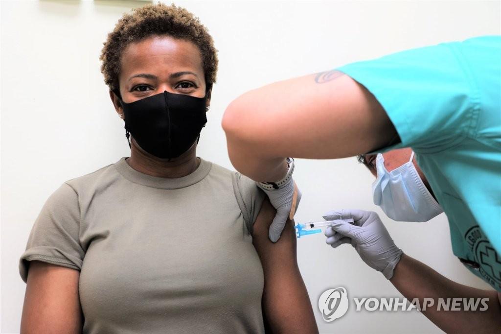 """주한미군 """"백신 접종률 47% 넘어""""…접종 개시 4개월만"""