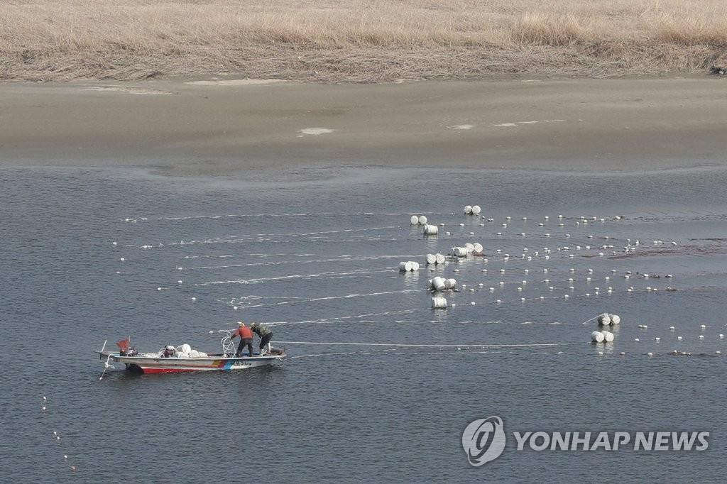 파주시, 다음 달까지 임진강·문산천서 불법 어업 단속
