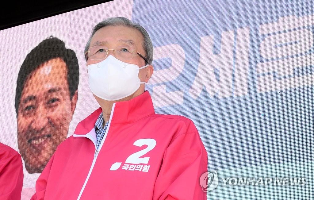 김종인, 오세훈과 '노도강' 벨트 유세…주호영은 충북行