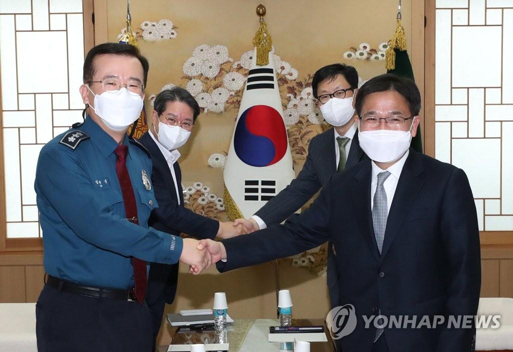"""수원지검장, 경기남부경찰청 찾아가 """"투기수사 적극 협력"""""""