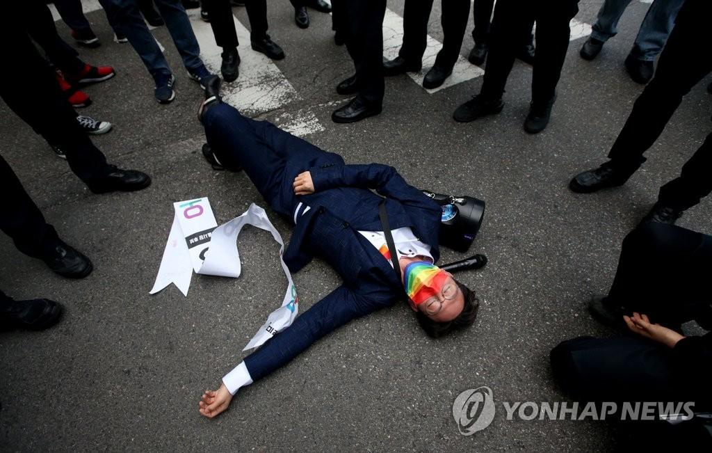 """오태양 '오세훈 측이 폭행' 주장에…吳측 """"본인 육성으로 반박""""(종합)"""