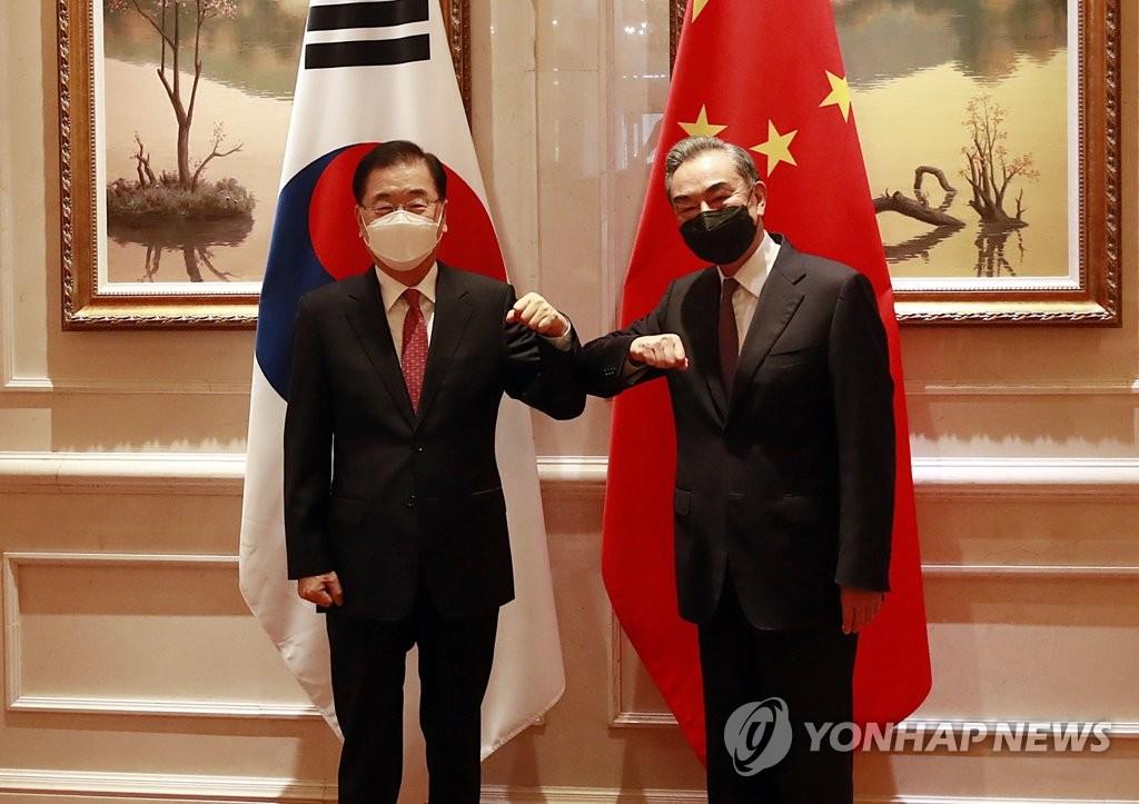 """외교부 """"시진핑 방한 의지 재천명…'2+2 대화' 상반기 추진"""""""