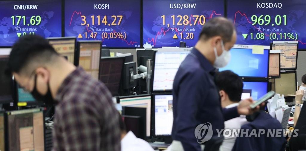 미 국채금리 상승 부담…코스피 장 초반 약세(종합)