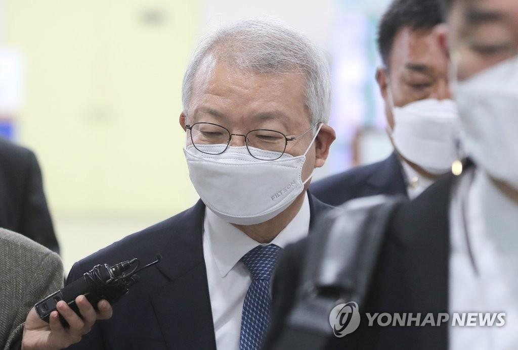 """양승태 """"적폐청산은 광풍""""…'사법농단' 무죄 주장(종합2보)"""