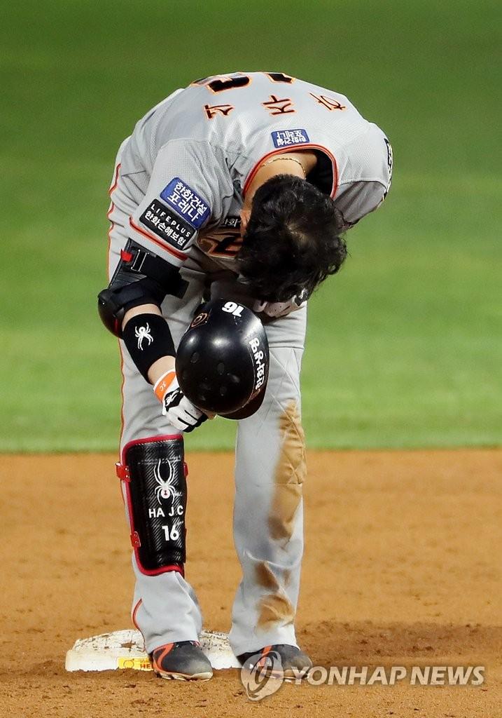 """'수베로 야구의 리더' 하주석 """"실패해도 좌절하지 않을 겁니다"""""""