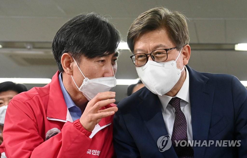 """부산 보선 압승 몸 낮춘 국민의힘…""""잘해서 이긴 게 아니다"""""""