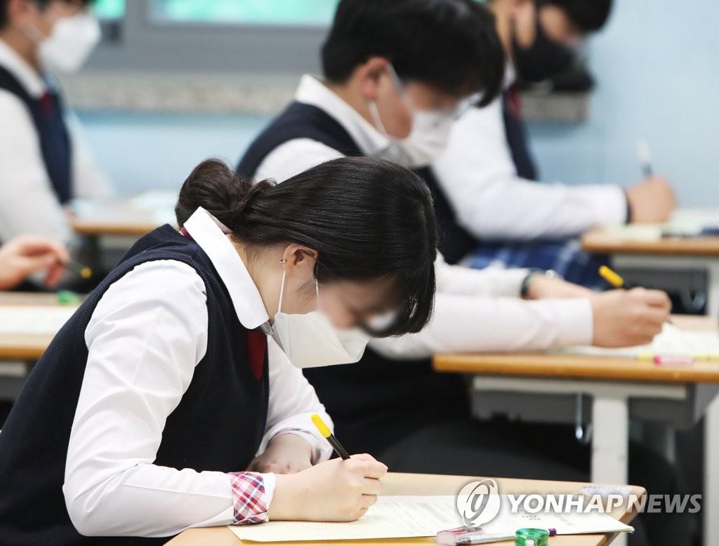 광주 고3, 3월 학평 국어·수학 평균점수 전국보다 높아