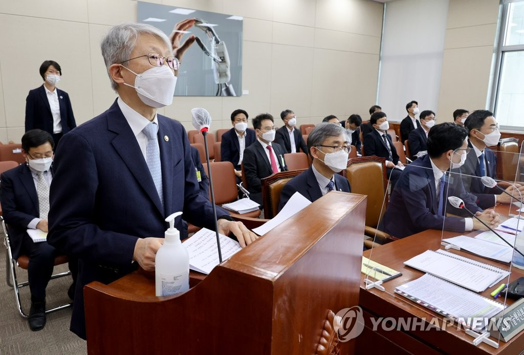 """최기영 과기부 장관 """"코로나 국산백신 올해 개발될 가능성 크다"""""""