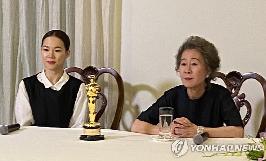 """[일문일답] 윤여정 """"절실·노력·연습…축구대표 심정 알게 됐다"""""""
