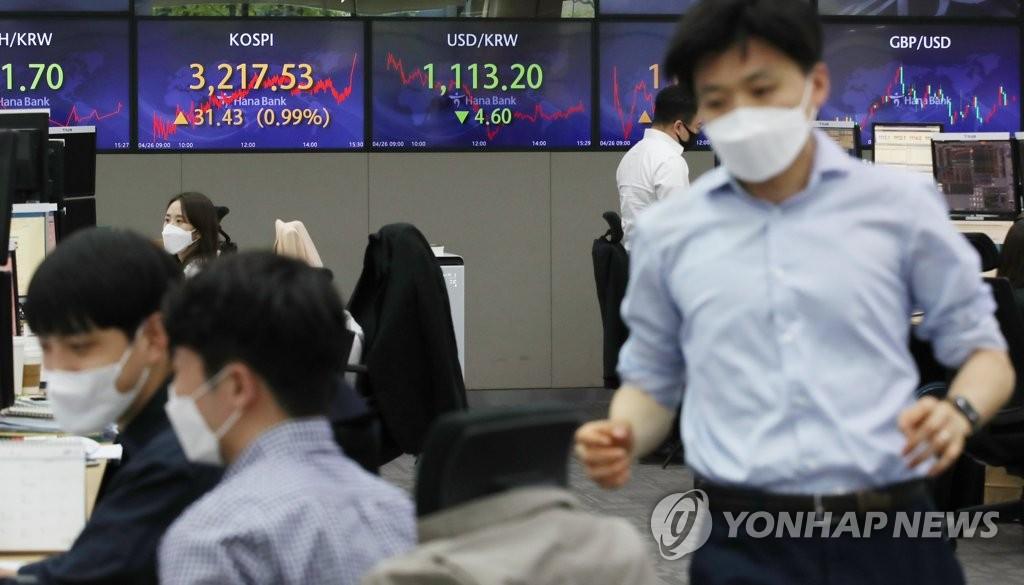 경기 낙관론 강화…원/달러 환율 하락 출발