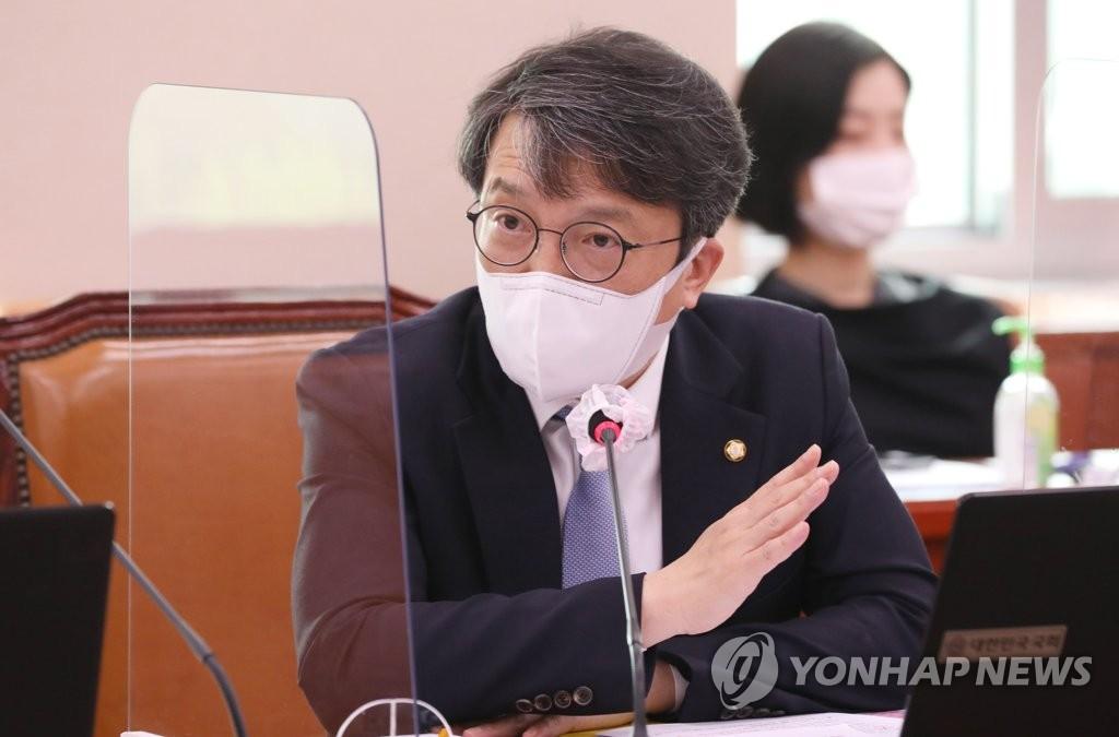 """김의겸 """"신문 유료부수 과도 산정…결국 국민 피해"""""""