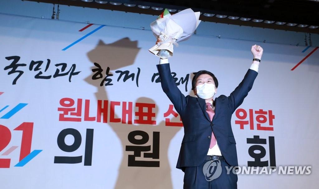 결선서 초선 몰표, '도로 영남당' 넘어선 김기현