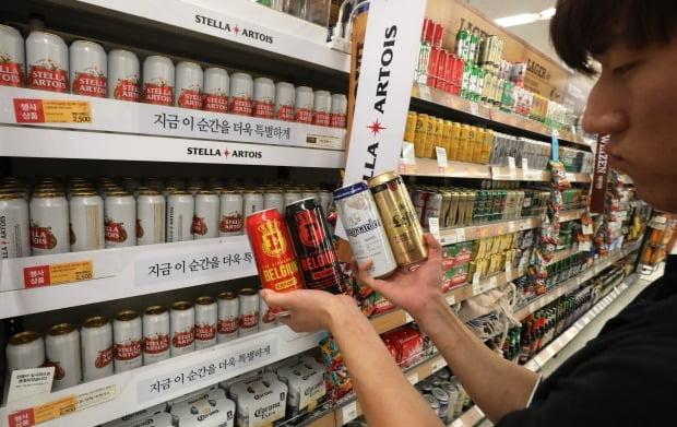 일본제품 불매운동의 여파로 수입 1위에 오른 벨기에 맥주 (사진=연합뉴스)