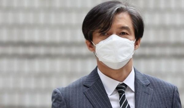 법정 향하는 조국 전 장관. /사진=연합뉴스