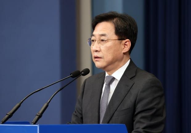 강민석 청와대 대변인(사진=연합뉴스)