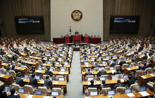 29일 오후 서울 여의도 국회 본회의장. /사진=뉴스1