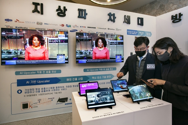 SKT, 5G∙AI로 韓∙美 방송서비스 미래 바꾼다