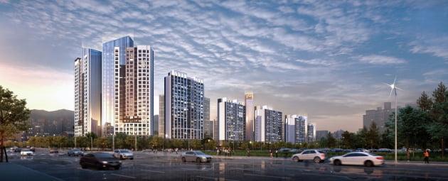 DL이앤씨, 3225억원 규모의 산본 우륵아파트 리모델링 시공사로 전성