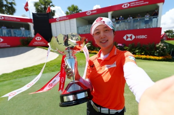김효주 세계랭킹 7위로…올림픽 출전권 '굳히기'