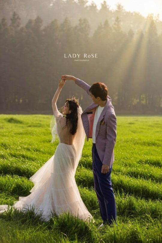 박인영 결혼 / 사진 = 레이디로즈 스튜디오