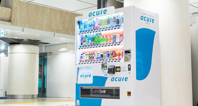 JR동일본크로스 스테이션은 AI 자판기 도입으로 매출 증대 효과를  내고 있다.