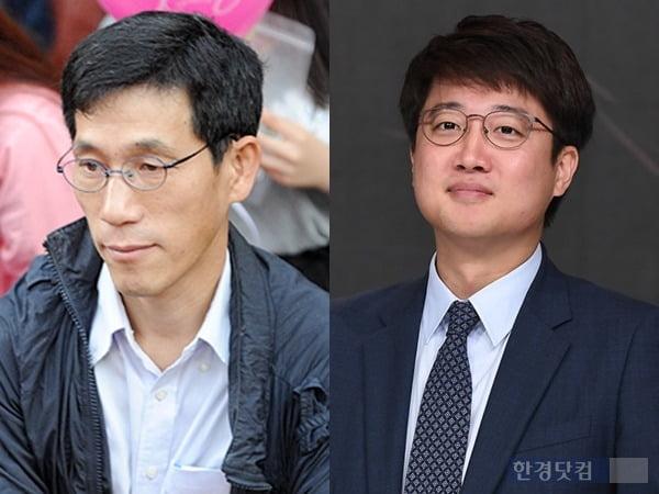 왼쪽부터 진중권 전 동양대 교수, 이준석 전 국민의힘 최고위원/사진=한경DB