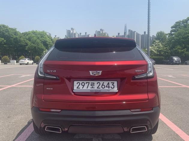 """'풀옵션 5500만원' 캐딜락 SUV 'XT4'…""""묵직한 존재감"""" [신차털기]"""