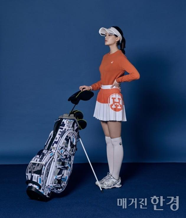 [Styling] 봄날의 골프 룩
