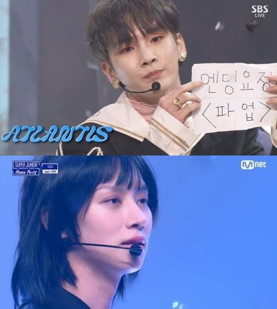 그룹 샤이니 키, 슈퍼주니어 희철 /사진=SBS, Mnet 방송화면 캡처