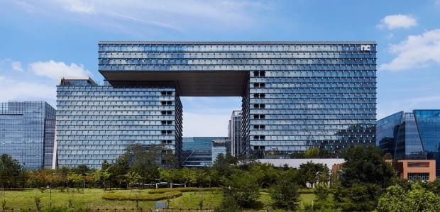 엔씨소프트 판교 연구·개발(R&D)센터 사옥 전경. 사진=엔씨소프트