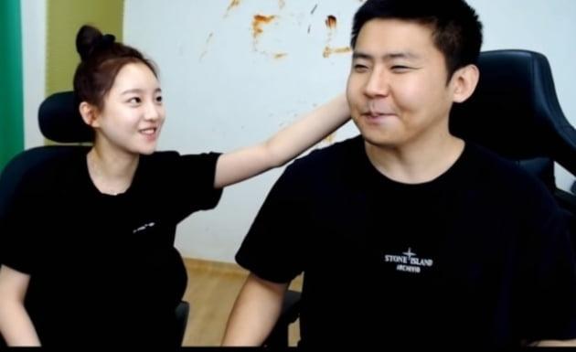 외질혜, BJ철구/사진=인터넷 방송 영상 캡처