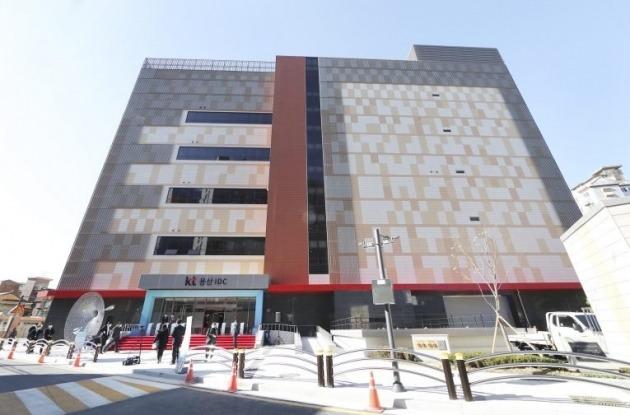 용산 IDC 건물 전경 [사진=KT]