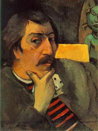 고갱의 자화상, 1888