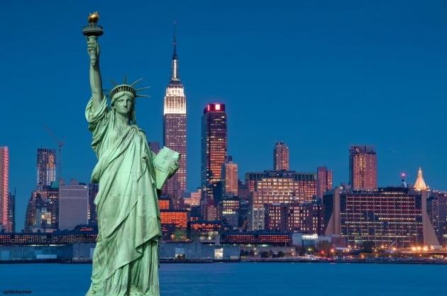 미국 뉴욕 전경